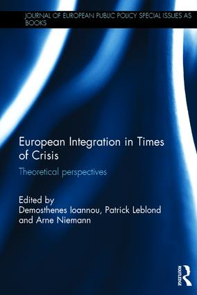 couverture du livre : European Integration in Times of Crisis: Theoretical perspectives