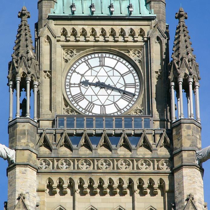 Horloge de la tour de la Paix