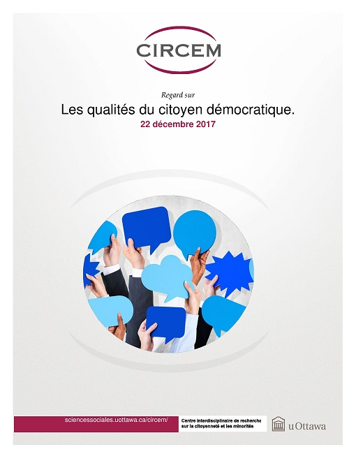 Page couverture: Les qualités du citoyen démocratique
