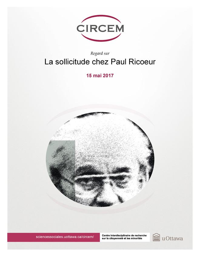 page couverture: La sollicitude chez Paul Ricoeur de Marie-Andrée Ricard