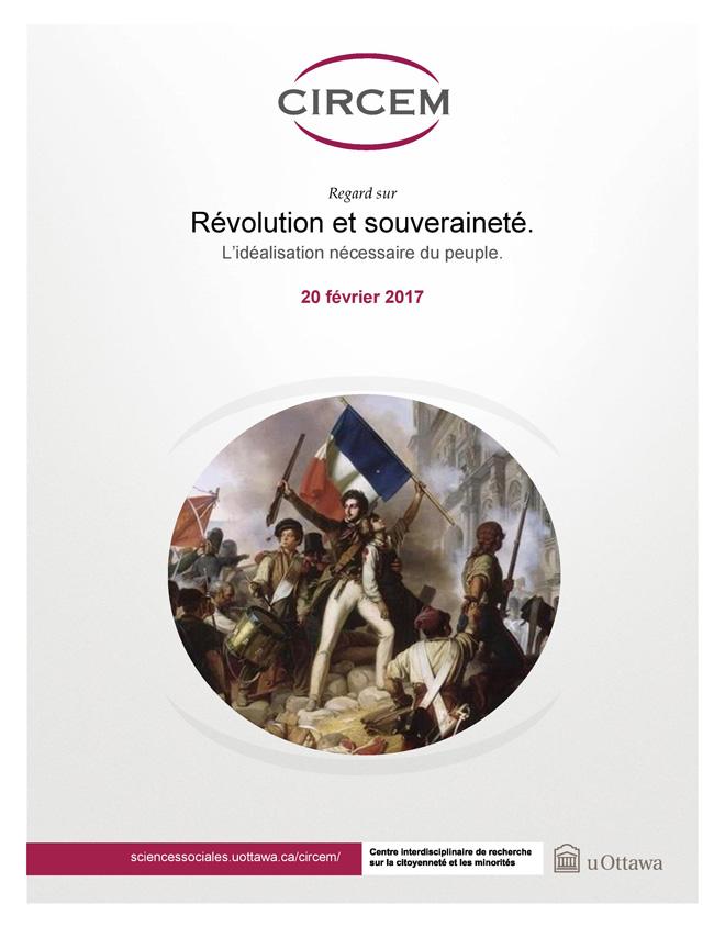 page couverture: Révolution et souveraineté : L'idéalisation nécessaire du peuple de Stéphane Vibert