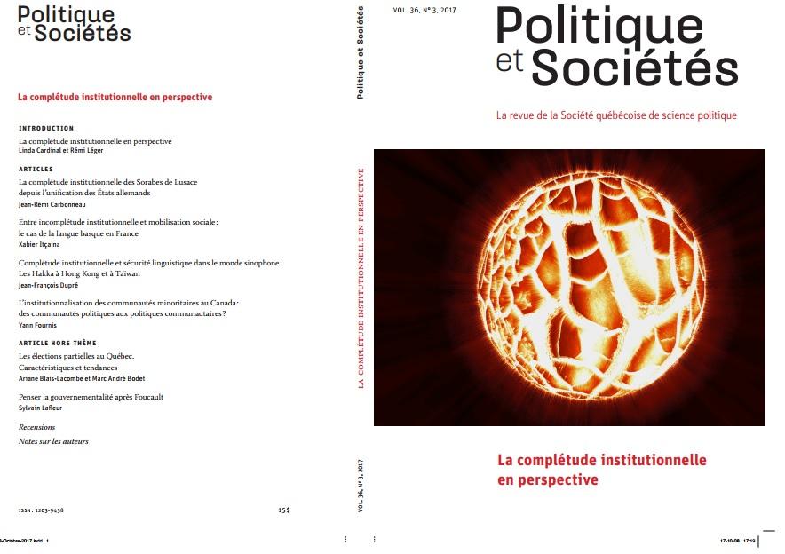 Revue Politique et Sociétés