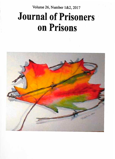 couverture du livre : Journal of Prisoners on Prisons - Dialogue on Canada's Federal Penitentiary System and the Need for Penal Reform
