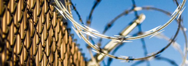 Clôture de prison