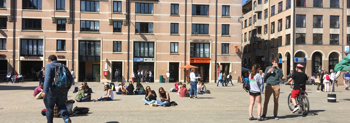 Campus de l'Université catholique de Louvain en Belgique