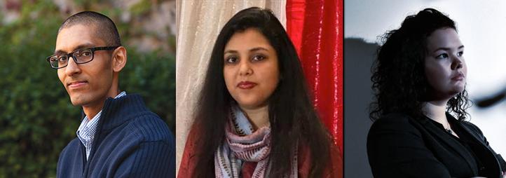 Sachil Singh, Wahida Chowdhury, Ciara Bracken-Roche
