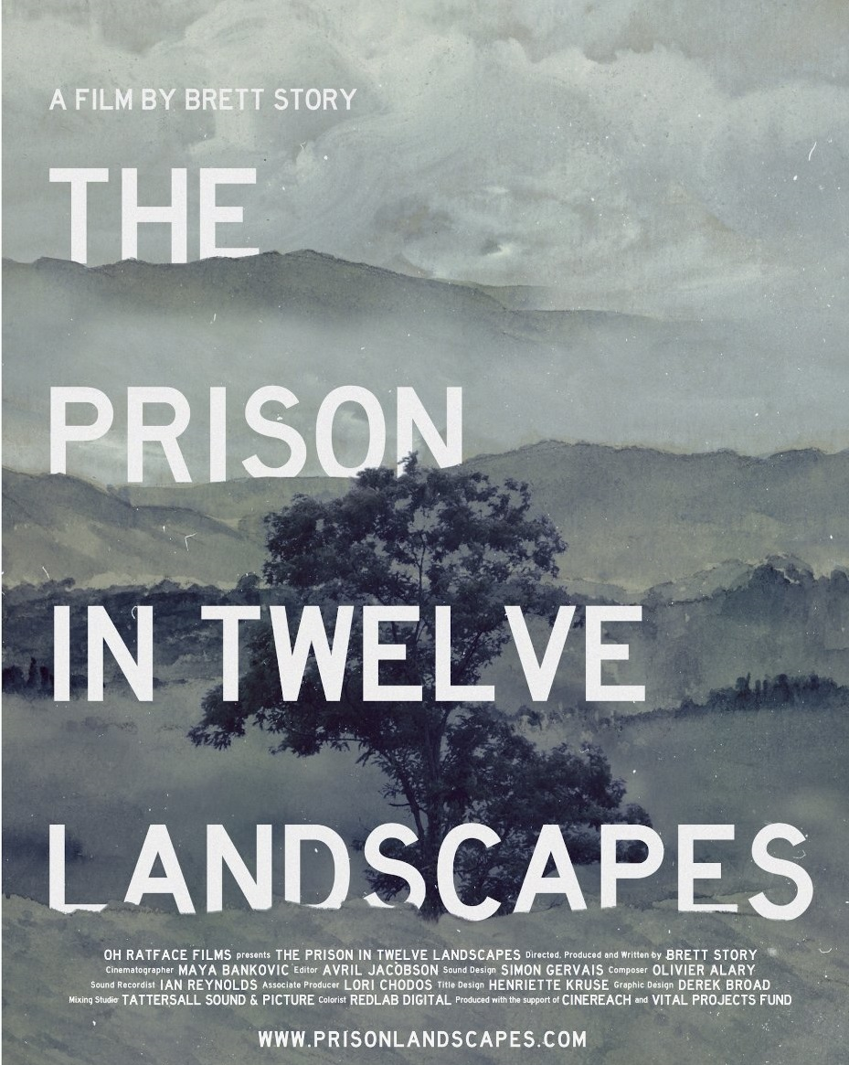 "Poster du film ""The prison in twelve landscapes"""