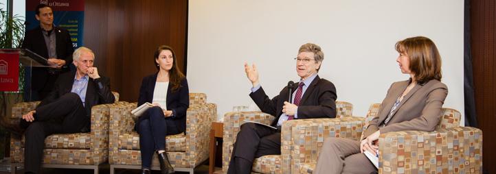 Panel de la conférence Jeffrey Sachs