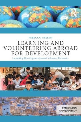 Couversture du livre Learning and Volunteering Abroad for Development