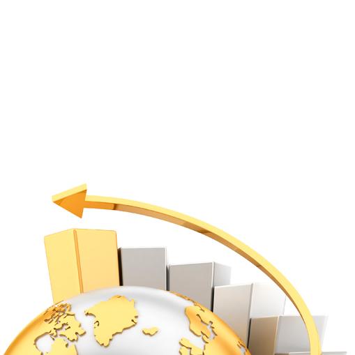 flèche et escaliers autour du globe international