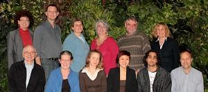 Photo de l'équipe de recherche du projet prise en octobre 2012