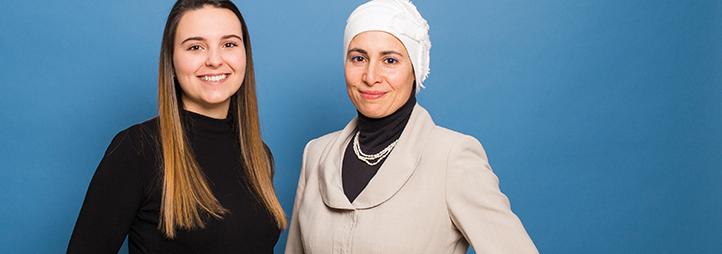 deux femmes