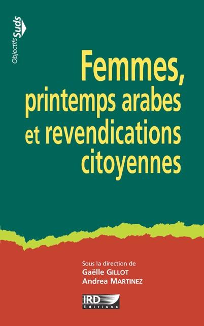Page couverture du livre Femmes, printemps arabes et revendications citoyennes