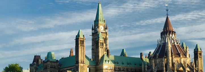 Colline du parlement du Canada