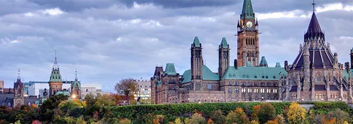 édifices parlementaires à Ottawa
