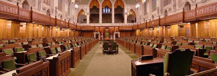 Chambre des communes, Parlement du Canada