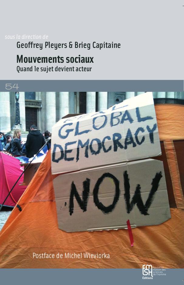 couverture du livre :Mouvements sociaux : Quand le sujet devient acteur,