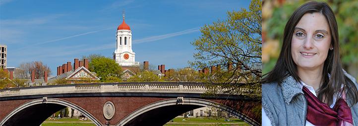 Elke Winter et paysage de Harvard