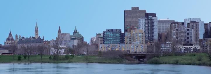 Vue de la ville d'Ottawa