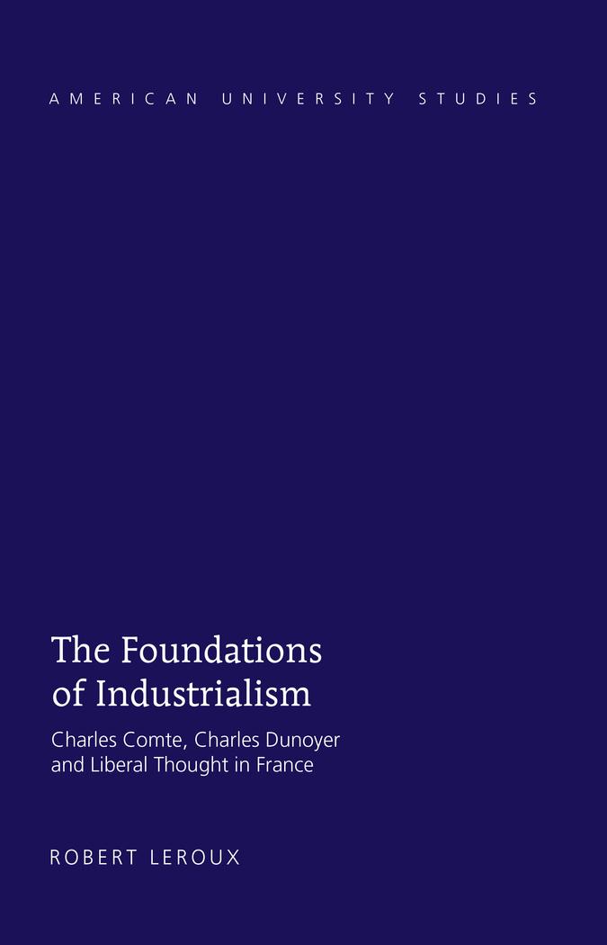 Couverture du livre:The Foundations of Industrialism