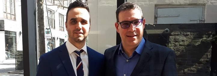 Eric Champagne et Francis Gaudreault
