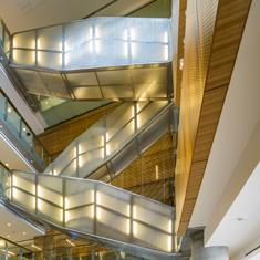 Pavillon des Sciences sociales - vue de l'intérieur