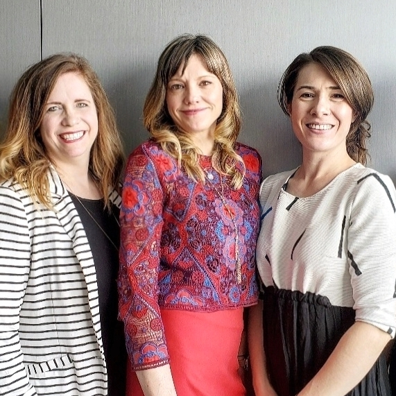 3 membres du Groupe de recherche sur la sexualité et l'anxiété