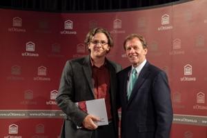Dr Bureau et Allan Rock à la réception d'excellence 2012