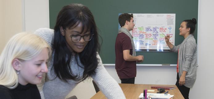 Équipe dynamique du Centre de mentorat