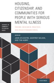 couverture du livre : Housing, Citizenship, and Communities for People with Serious Mental Illness: Theory, Research, Practice, and Policy Perspective