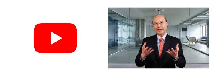 Icone Youtube accompagné du portrait du Pr Lo