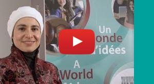 Vidéo Bourse de mobilité étudiante par Nadia Abu-Zahra, professeure adjointe à l'École de développement international et mondialisation