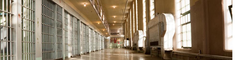 Prison avec des cellules vides