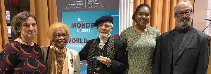 Victoria Barham, Cynthia Bled, Yves Bled, Maurice Lévesque