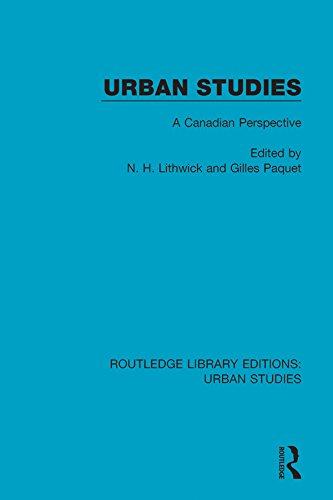 couverture du livre : Urban Studies :  A Canadian Perspective