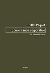 couverture du livre : Gouvernance corporative