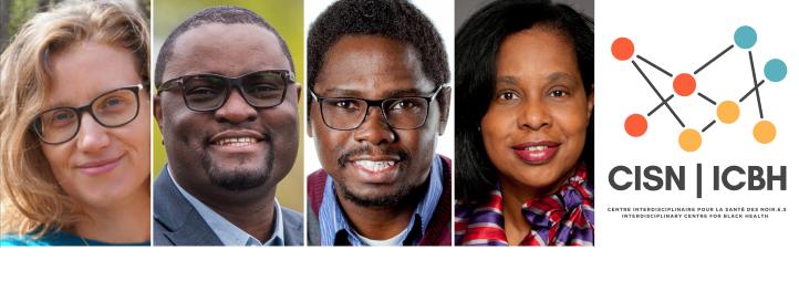 Le comité de leadership du CISN : Emmanuelle Bernheim, Jude Mary Cénat, Chibuike Udenigwe et Sharon Whiting