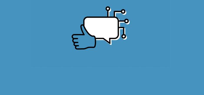 Logo de la priorité de recherche de médias, technologie et société