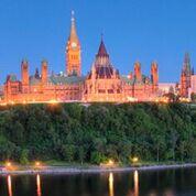 Vue de la Colline du Parlement