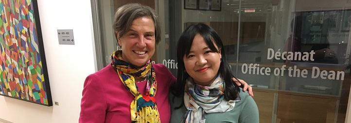 Vicky Barham et Shuxuan Huang