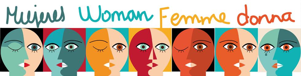Œuvre cubiste de plusieurs visages de femmes